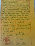 teacher's day note